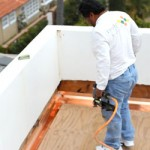 Deck Waterproofing Flashng install