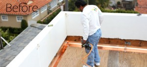 Deck Repair in Corona Del Mar_Before