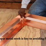 Deck Waterproofing flashing level