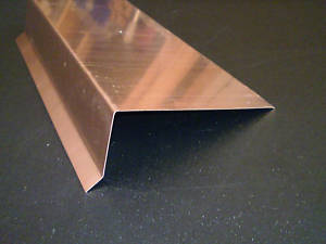 deck flashing copper