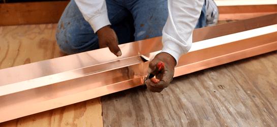 Level One-Waterproofing flashing adjustment