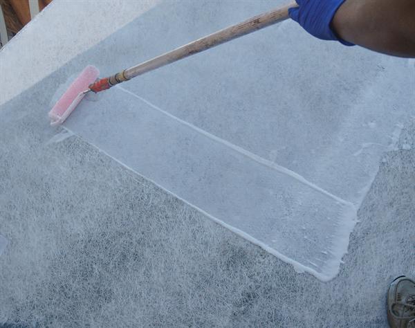 Resurfacing Decks_bonder application_waterproof decking in Los Angeles, Ca
