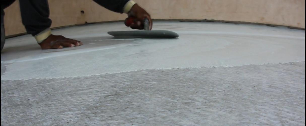 Deck Waterproofing Skim Coat Concrete Coating Deck