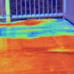 Thermal Imaging Leak Detection_water