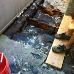 leaking deck repair