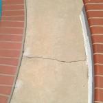 hotel Pool Deck Resurfacing _crack