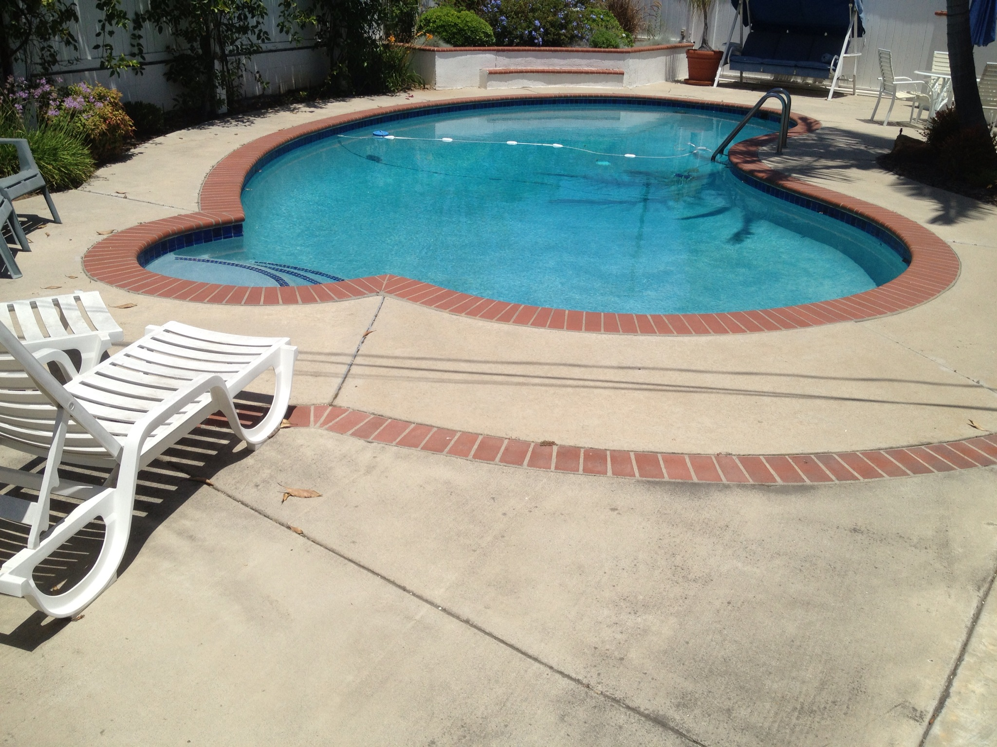 Pool Deck Resurfacing Fullerton Concrete Resurfacing