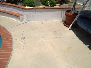 Pool Deck Resurfacing Fullerton_cracking
