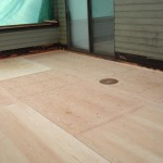 waterproofing plywood decks