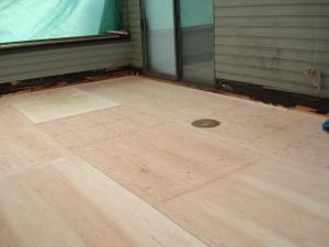 Prestige Decking_plywood repair