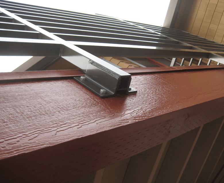balcony deck_rail work_subfloor