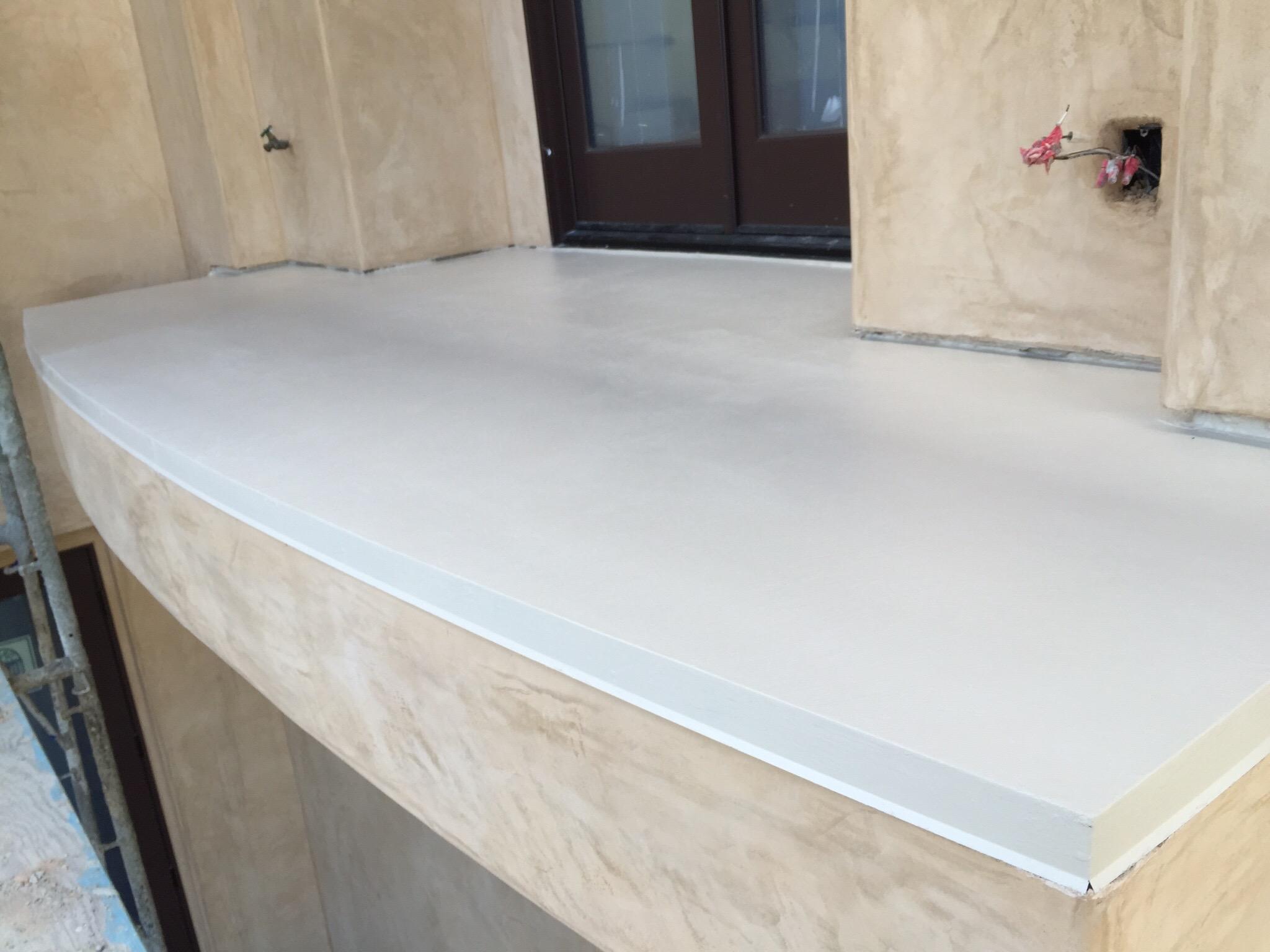 Fiberglass Waterproofing Deck Coating Crete System