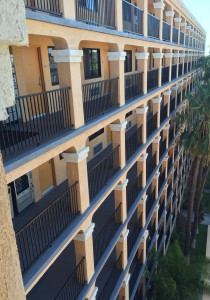 Commercial Balcony Deck Coating_side view