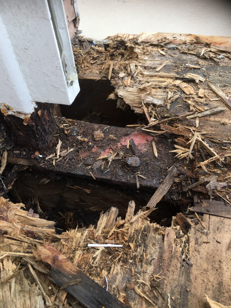 deck repair system _ dry rot