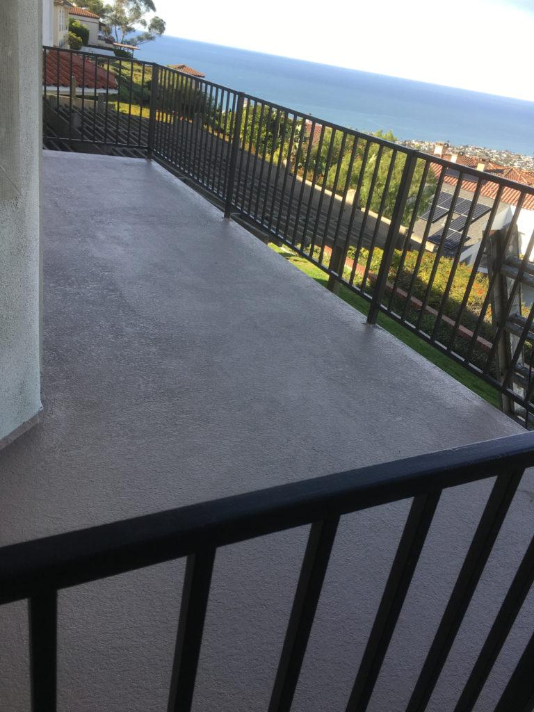 balcony deck coatings _ concrete